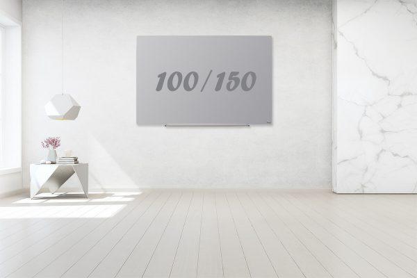 לוח מחיק תליה נסתרת אפור 100/150