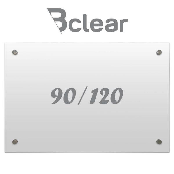 לוח מחיק שקוף Bclear 90.120
