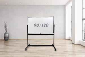 לוח נייד מסגרת שחורה 90/120