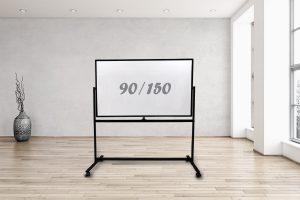 לוח נייד מסגרת שחורה 90/150