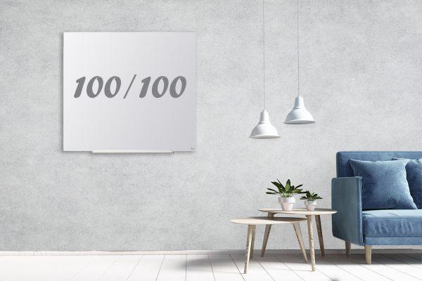 לוח מחיק תליה נסתרת 100/100