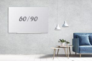 לוח זכוכית תליה נסתרת 60/90