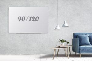 לוח זכוכית תליה נסתרת 90/120