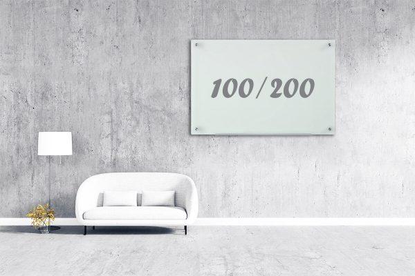 לוח מחיק סיני 100/200