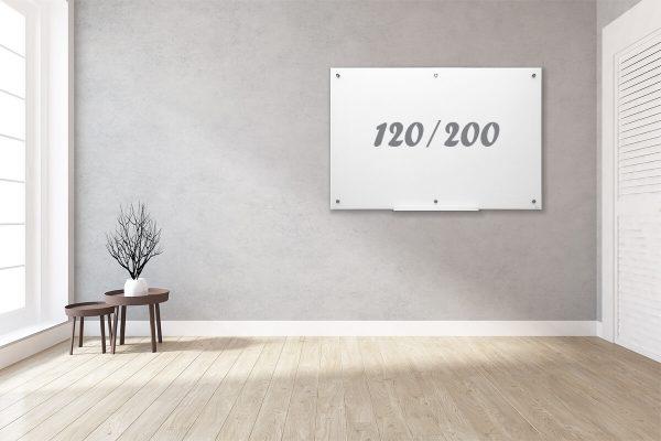 לוח מחיק קלאסי לבן 120.200