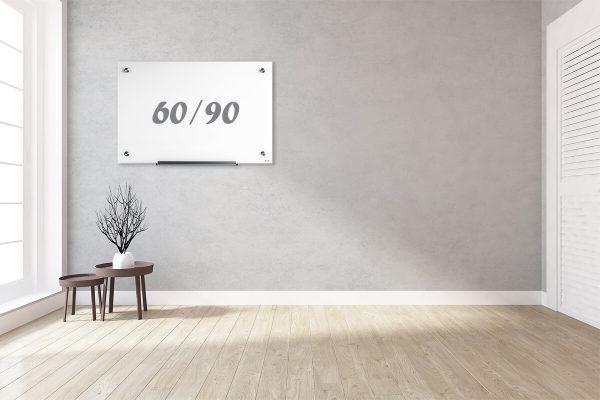 לוח מחיק קלאסי לבן 60.90