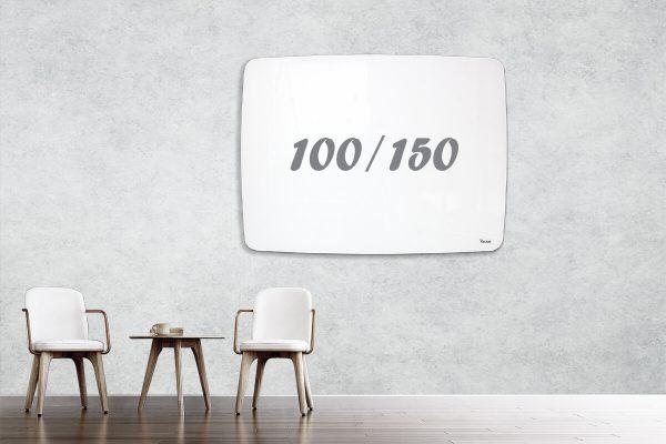 לוח זכוכית מעוצב שייפ 100/150
