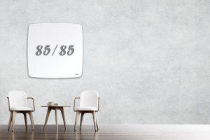 לוח מחיק מעוגל 85/85