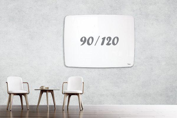 לוח זכוכית מעוצב שייפ 90/120