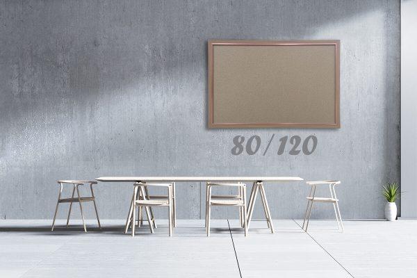 שעם מסגרת חומה מידות 80/120