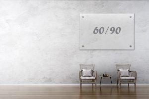 לוח מחיק שקוף Bclear 60.90