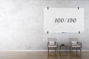 לוח מחיק שקוף Bclear 100.150