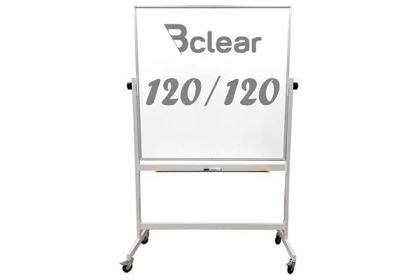 לוח מחיק נייד דו צדדי מגנטי 120x120
