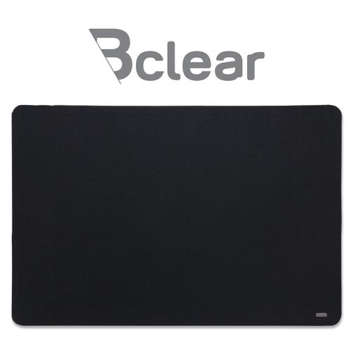 """לוח נעיצה מבד בצבע שחור 60x90 ס""""מ Bclear"""