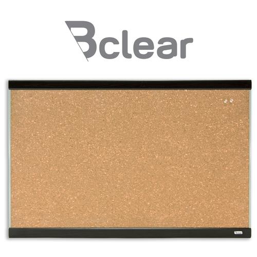 """לוח שעם יצוק דקורטיבי מסגרת עץ 60x90 ס""""מ Bclear 2"""