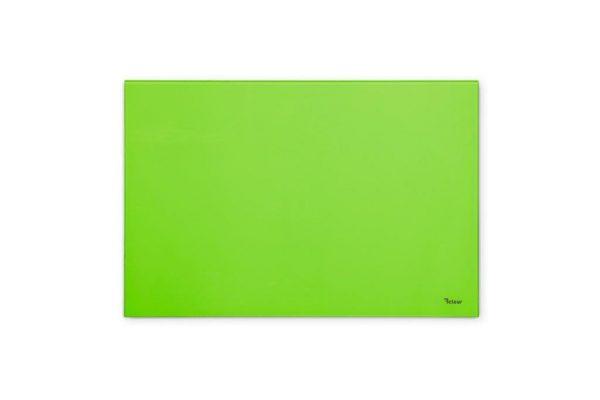 """לוח מחיק קטן זכוכית מגנטי צבע ירוק 40x60 ס""""מ מסדרת Bclear mini"""