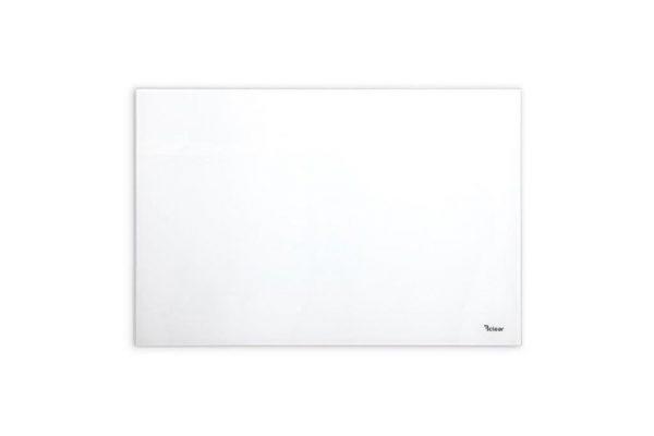 """לוח מחיק קטן זכוכית מגנטי צבע לבן 40x60 ס""""מ מסדרת Bclear mini"""