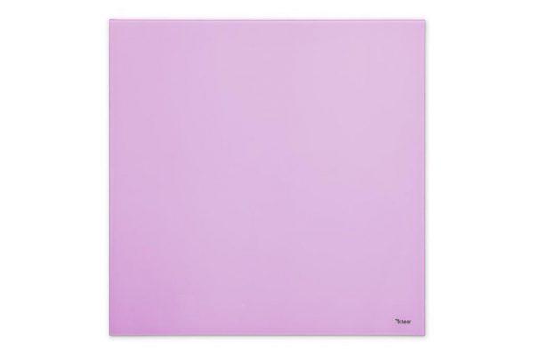 """לוח מחיק זכוכית מגנטי צבע סגול 40x60 ס""""מ מסדרת Bclear mini"""