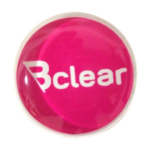 מגנט זכוכית חזק במיוחד - ורוד Bclear