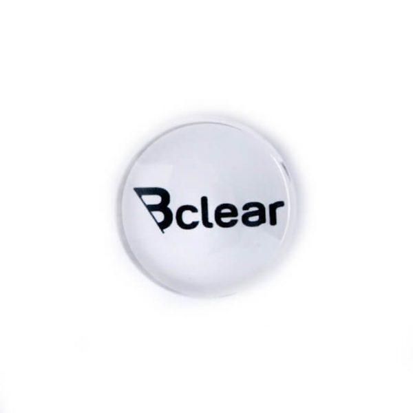 מגנט זכוכית חזק במיוחד - לבן Bclear