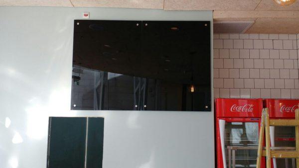 """שתי לוחות מחיקים שחורים מזכוכית בגודל 60x90 ס""""מ - Bclear"""