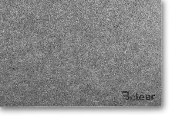 לוח נעיצה אקוסטי אפור