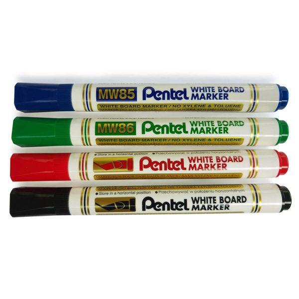 מארז 4 טושים מחיקים Pentel