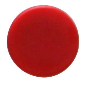 מגנט פלסטיק חזק במיוחד - אדום