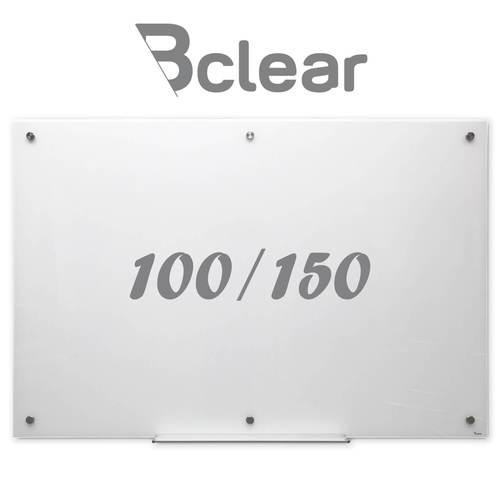 וח זכוכית מחיק מגנטי 100x150 ס''מ לבן - Bclear