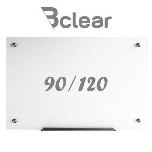 לוח זכוכית מחיק מגנטי 90x120 ס''מ - Bclear