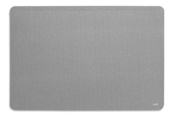 לוח שעם בד אפור ללא מסגרת - Bclear