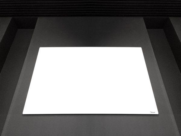 לוח זכוכית מחיק עם התקנה נסתרת