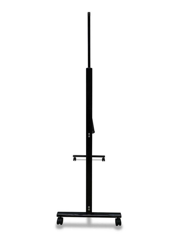 לוח מחיק נייד מסגרת שחורה צד