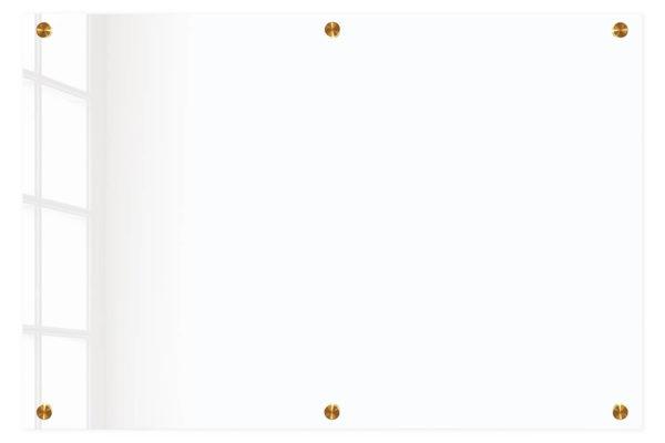 לוח זכוכית שקוף איכותי